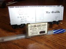 """Microtrain N-scale 20110 D & R G W """"Cookie Box"""" Boxcar #60036"""
