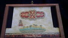 Cigar box wooden fuente opusx Dominican Republic Chateau de la Fuente ORNATE