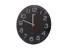 Orologio da parete 30 cm. Trevi OM 3316 S Nero
