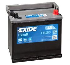 Batteria auto EXIDE EB450 12V 45AH 330EN POLO + DX