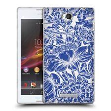 Fundas y carcasas Para Sony Xperia E color principal azul para teléfonos móviles y PDAs Sony