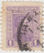 (UG-88) 1928 Uruguay 1c violet ARTIGUS (J)