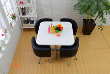 Dining table and 4 chairs wood..