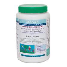 Masan Antischimmelfarbe - 1 Liter - Spezialanstrich gegen Schimmel - für ~5 m²