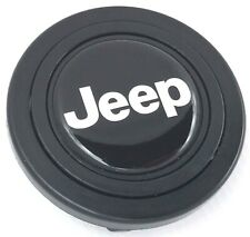 JEEP steering wheel horn push button. Fits Momo Sparco OMP Nardi Raid etc