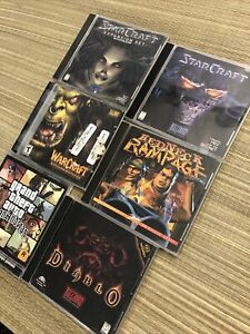Lot Of (6) Mix Pc Games Redneck Rampage PC CD-ROM Game Interplay 1997 See Photos