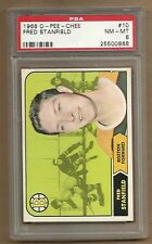 1968  O PEE CHEE FRED STANFIED # 10   PSA 8