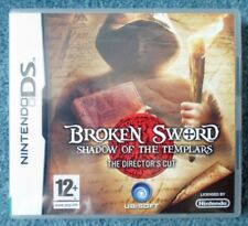 Broken Sword Shadow of Templars Director Nintendo Ds Stampa Uk Gioco in Italiano