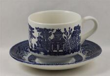Churchill Willow Blue England Cup and Saucer Set
