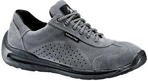 Mens Breathable Steel Toe Hiking Work Trainers Size 6 to 12 UK - GREY TARGA