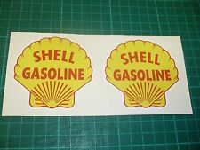 SHELL GASOLINE Stickers