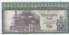 EGYPT 20 EGP 1976  P-48 sig/ IBRAHIM #15 PREFIX 2 UNC */*
