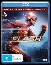 The Flash : Season 1 (Blu-ray, 2015, 4-Disc Set)