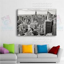 50x30cm - TOILE IMPRIMÉE - TABLEAU MODERNE DECORATION MURALE - NEW YORK - NY-11T