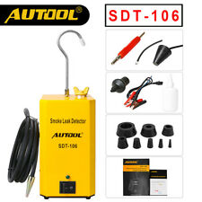 Autool SDT-106 Automotive Smoke Leak Detector Tester Pipe EVAP Diagnostic Tool