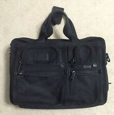 "Tumi Alpha FXT Ballistic Nylon 16"" Expandable Laptop Briefcase Bag  26141DH"