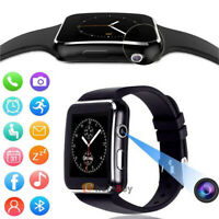 X6 Smart Watch Touch Screen SIM TF Card Bluetooth Smartwatch for iPhone Android
