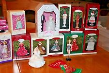 Barbie Hallmark Ornaments-25 from 1994-1998(21 New NRFB-4 W/O Box)