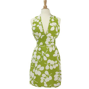 NEW NEW Dandi Organic Cotton Apron - Leaf Green