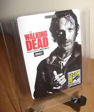 Comic Con San Diego SDCC The Walking Dead Rick Grimes Card Badge 2017 RFID Swag