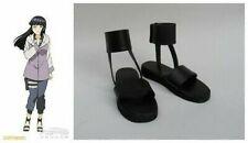 Naruto Temari Cosplay Costume Boots Boot Shoes Shoe UK