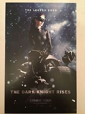 "THE DARK KNIGHT RISES movie poster : ANNE HATHAWAY : 11"" x 17"" CATWOMAN poster"