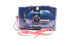 Rare Blue Olympus XA2 35mm Compact Film Camera (1:3.5 Lens )