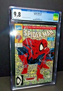 Spider-Man 1 CGC 9.8 White Pages; 1990 McFarlane; Marvel *KEY* Feat. The Lizard