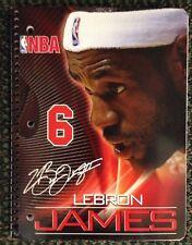 Lebron James Official NBA Basketball Notebook 2014 Miami Heat Cavaliers Rare