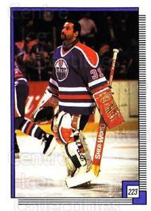 1988-89 O-pee-chee Stickers #223-0 Grant Fuhr