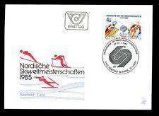 Austria 1985 Nordic SCI CAMPIONATO FDC #C 2853