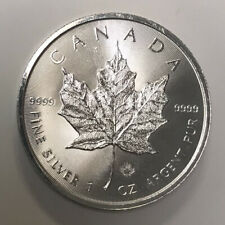 2014 1oz - Fine Silver .9999 Canadian Maple