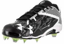 UNDER ARMOUR DECEPTION LOW DT BASEBALL Cleats Black White 13 1264165-011 $99