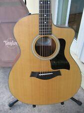 Taylor 114ce Acoustic Guitar, 2015 NICE