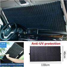 2019 Upgrade Car Front Rear Windshield Retractable Sun Visor Sunshad Anti-UV