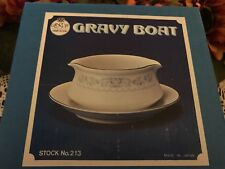 Temptation by Fine China of Japan RJZS Gravy boat new in box