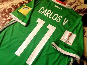 Jersey mexico adidas Carlos Vela (S) 2017 confederations cup LAFC  mls