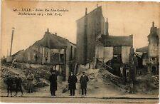 CPA  Lille - Ruines Rue Léon-Gambetta -Bombardement 1914   (203964)