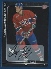 CRAIG DARBY 00-01 IN THE GAME BE A PLAYER 2001 SIGNATURE SERIES NO 197  17549