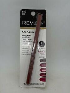 Revlon Colorstay Long Wearing Lip Liner Pencil 8Hr 660 Mauve