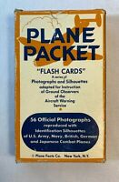 """WW2 Plane Packet """"Flashcards"""" Plane Facts Co. NY Civil Defense Ground Observers"""