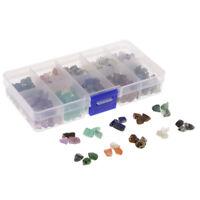 1 Schachtel Natursteine Unregelmäßig Geformte Chip-Edelsteinperlen Für