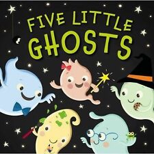 Five Little Ghosts-ExLibrary