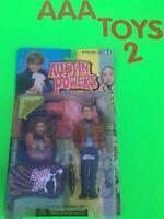 """McFarlane Toys Austin Powers SCOTT EVIL """"lazy eyed psycho"""" Figure NEW"""