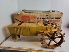 Vintage Rain Train Nelson N-200 Cast Iron Tractor Traveling Lawn Sprinkler 3Z1
