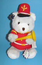 VINTAGE 1987 CHRISTMAS TEDDY BEAR by APPLAUSE made in KOREA L@@K