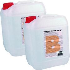 2x 5L Smoke Fluid B Basic Nebelfluid 10 Liter Nebelflüssigkeit f. Nebelmaschinen