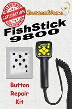 Fisher FishStik 9800 Western 96462,96900,96500 Plow Controller Button Repair LM