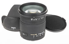 Sigma 17-70mm f/2.8-4.5 DC MACRO lens for Canon +lens hood, caps | scratched
