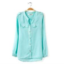 Langarmige Damen Blusen, Tops und Shirts